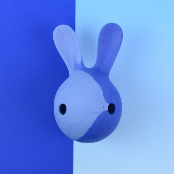 cuniculus L casted in two different shades of blue