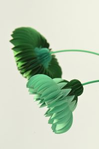 paperflowers green