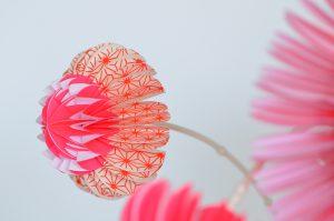 paperflowers pink