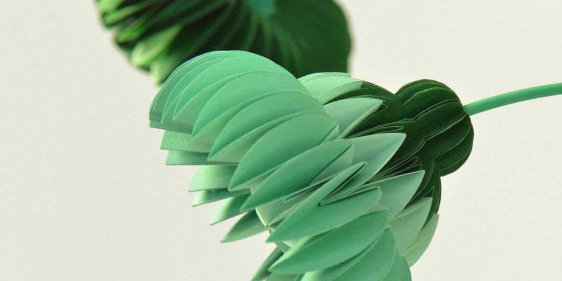paperflowers green