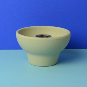 Zuperzozial candleholder green, for table candle