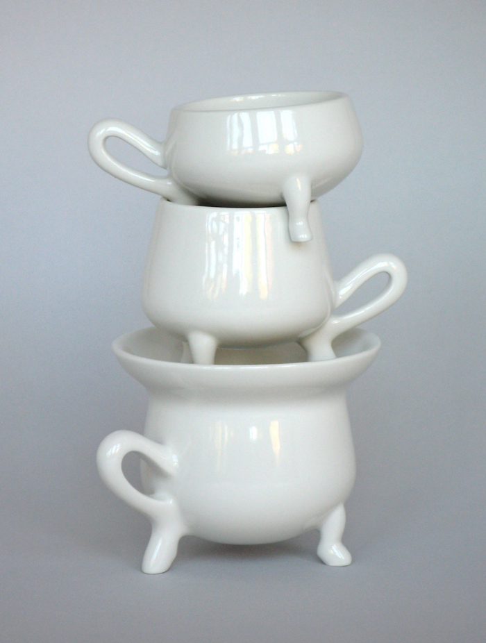 Cafe pompes set, stack