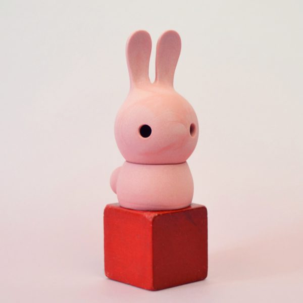 cuniculus small with body, pink
