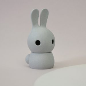 cuniculus small with body, light grey
