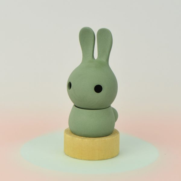 Cuniculus small with body, green