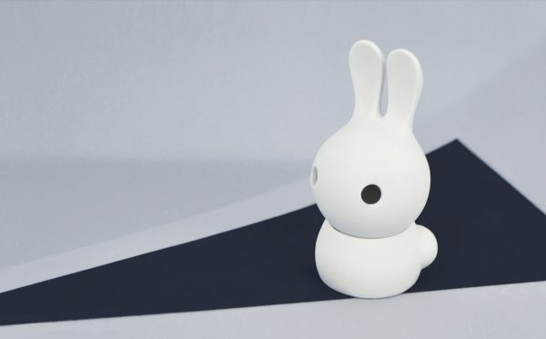 Cuniculus small with body, white