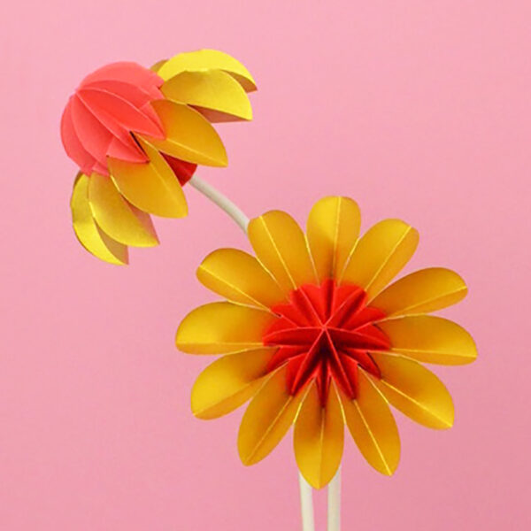 paper flowers summer edition