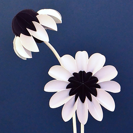 paper flowers winter