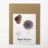 paper flowers diy kit autumn